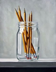 Impressively simple still life.                                                                                                                                                                                 More