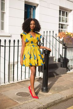 Ankara Xclusive: The Most Attractive and Popular African Print Dresses 2018 African Print Dresses, African Wear, African Dress, African Prints, African Outfits, African Fashion Designers, African Print Fashion, Africa Fashion, Ankara Fashion
