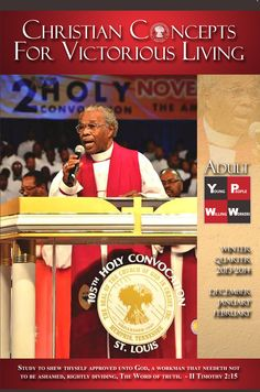 12 best cogic publishing housecogic bookstore images on pinterest bishop jn haynes on the cover of the winter 2013 14 adult ypww http fandeluxe Images