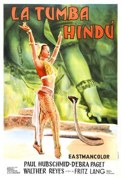 Das Indische Grabmal (The Indian Tomb) (1959) Director: Fritz Lang.