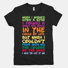 Funny shirts disney songs Ideas for 2019 Disney Song Lyrics, Disney Songs, Disney Quotes, Lyric Shirts, Tee Shirts, Disney Style, Disney Love, Cool Shirts, Funny Shirts