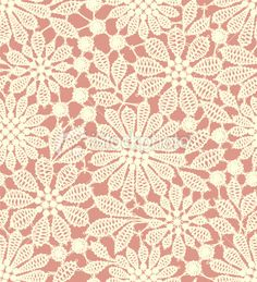 Pastel colored lace seamless pattern Royalty Free Stock Vector Art Illustration