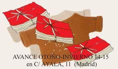 Jersey handmade in Spain: merino+acril.