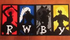 Image result for perler beads pattern rwby