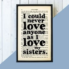 Gifts for Sister Sister Gift Birthday Gift Sister Book