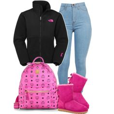 A fashion look from December 2014 featuring The North Face activewear jackets, UGG Australia boots and MCM backpacks. Browse and shop related looks.
