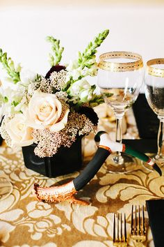 #sparklingeverafter Great Gatsby Birthday Party  Read more - http://www.stylemepretty.com/living/2013/07/16/great-gatsby-birthday-party-get-the-look/