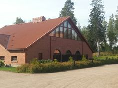 Golf Club Finland, Golf Clubs, Cabin, House Styles, Home Decor, Decoration Home, Room Decor, Cabins, Cottage