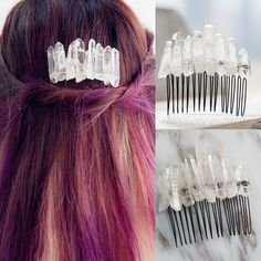 Crystal Quartz Hair Pin AWH0018