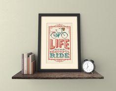 Beautiful Ride - Cross Stitch Pattern (Digital Format - PDF)