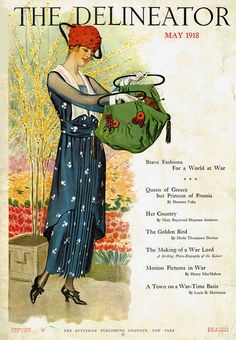 Delineator cover May 1918