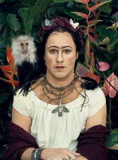 Seth Rogan as Frida - from Vanity Fair