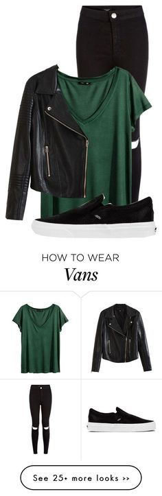 """Untitled #649"" by damyadunn on Polyvore featuring H&M and Vans"