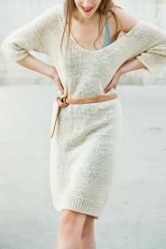 Strickkleid mit Zopfmuster   Fashion-Lieblinge   Pinterest 13a43272ee