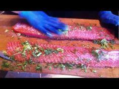 How to make gravlax - Fjäderholmarna restaurant Sweden