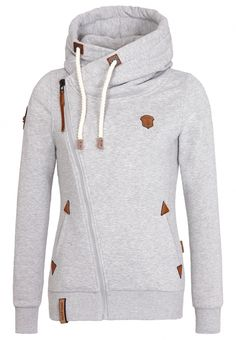 A must have for autumn! Naketano Family Biz Hoodie Grey - Aaltostore