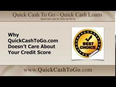 Good Reasons Why QuickCashToGo.com is the Best Choice for #PaydayLoans: https://youtu.be/P-QZ92yU2kE  Apply at http://www.quickcashtogo.com/