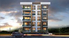 Project Arşiv - Kentsel Dönüşüm - Erkaya İnşaat Duplex House Design, House Front Design, Modern House Design, Apartment Floor Plans, Apartment Projects, Apartment Design, Building Elevation, Building Facade, Small Buildings