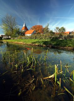 Swolowo, beautiful village in North Poland