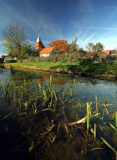 Swolowo, beautiful village in North Poland