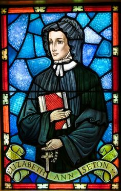 St. Elizabeth Ann Seton,  patron saint of homeschooling!