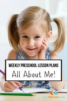 Are you looking for pre-made preschool lesson plans? This All About Me weekly preschool lesson plan has it all!
