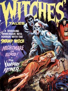 Cover for Witches Tales (Eerie Publications, 1969 series) #v6#4
