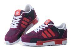 82e3ff5247 mujer Adidas Zapatos Originals ZX 850 Púrpura rojo Negro Corriendo Sneakers  B25612