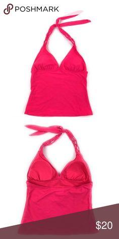 NWT Old Navy Hot Pink swim tankini top Old Navy hot pink tankini top.  offers! Reasonable offers please!  trades,  holds. Old Navy Swim Bikinis