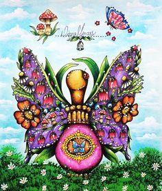 RepostBy @dmcolorindolivros:  A porção mágica que ganhou asas.  #porcao #magica #colorfull #adultcolouring #coloringbook #coloring #arte #art #artista #artist #instacolors  #colors #cores  #adultcoloringbook  #meucolorido #antiestresse #amopintar  #instaDKPM #creativelycoloring #paintingbook #colorfy #kláramarková