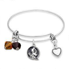 Silver Tone Wire Bracelet with Florida State Charm and Co... https://www.amazon.com/dp/B00SUEEJ3W/ref=cm_sw_r_pi_dp_x_VbMJybX32CZ11