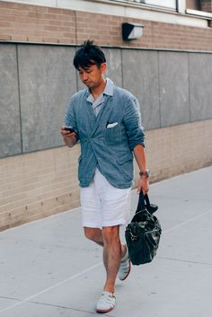 The Best Dressed Men from New York Fashion Week Photos | GQ