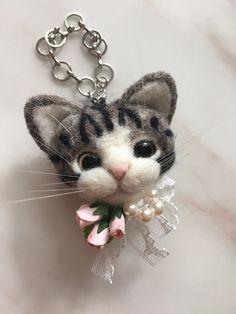 Hellery Christmas Felt Kit For Animal Cat Making Felting Handwork Material