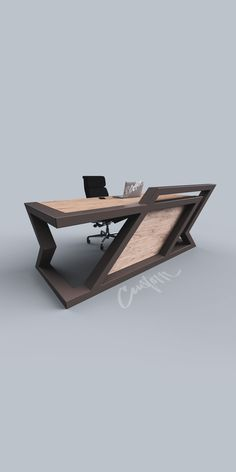 Minimalist Design Modern is part of Office furniture design - Minimalist Design Create the Conversation 💯 Design can be overlooked, not this time This × × Office Table Design, Industrial Office Design, Industrial Design Furniture, Modern Office Design, Office Furniture Design, Office Interior Design, Office Interiors, Welded Furniture, Modern Wood Furniture