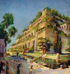 Breathtaking Animation Presents A Reconstruction Of The Hanging Gardens Of Babylon.