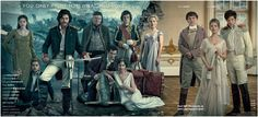 'WAR & PEACE' EPIC TV SERIES     MINDBLOWING CAST PHOTOS   N ow, do I have some mouth watering visual treats for you today, people, you won...