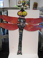 There's a Dragon in my Art Room: Dragon fly