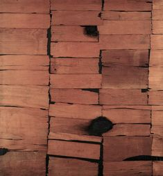 Working With the Given: Alberto Burri, Neo Dada, Spanish Painters, Italian Painters, Giuseppe Penone, Alberto Burri, Art Informel, Tachisme, Guernica, Orange Art