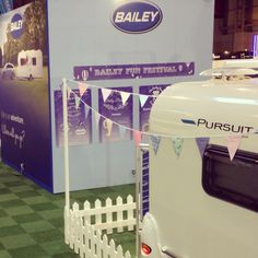 The Bailey Pursuit is ready and waiting for The Caravan, Camping & Motorhome Show to open at the NEC, Birmingham. Motorhome, Birmingham, Bristol, Fun Activities, Caravan, Waiting, Short I Activities, Truck Camper, Rv