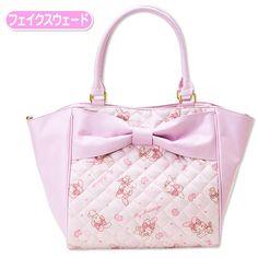 My Melody Handbag Tote Bag Fake Suede SANRIO JAPAN