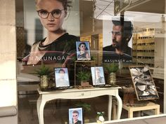Our Masunaga  eyewear window display