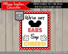 Mickey Mouse Birthday Party Ideas: Printable Thanks for Popping By See Ya Real Soon Sign. Perfect to put with bubble party favors. Use promo code to save off purchase. Lots of coordinating items. Birthday Themes For Adults, Adult Party Themes, Adult Birthday Party, Birthday Party Themes, 2nd Birthday, Birthday Ideas, Mickey Party, Mickey Mouse Birthday, Minnie Mouse