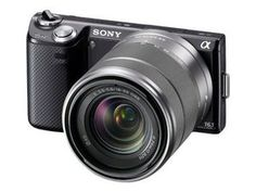 Sony NEX-5N 16MP Compact Interchangeable Lens Camera with 18-55mm Lens for $429.99