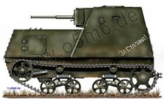 Engines of the Red Army in WW2 - Armoured Tractor KhTZ-16