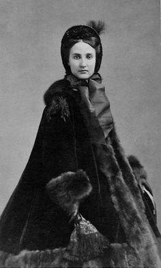 Picture of a young Carlota  Retrato muy joven, de quien fuera la emperatriz Carlota de México (1840-1927)...