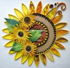 1000 Images About Quilling Flowers On Pinterest