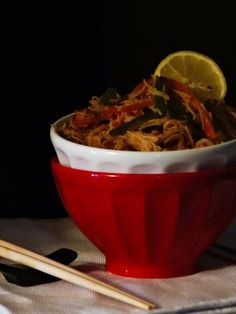 Eni´s Kitchen: Fideos picantes, fideos orientales