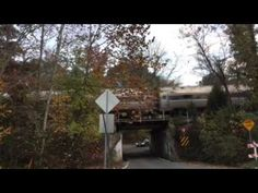 Northbound Amtrak Train 11/4/15 - YouTube