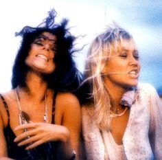 Frida and Agnetha of ABBA