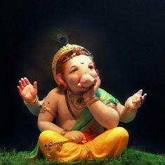 Jai Ganesh, Ganesh Lord, Ganesh Idol, Shree Ganesh, Ganesha Art, Ganesh Murti Images, Shri Ganesh Images, Ganesha Pictures, Ganpati Bappa Wallpapers
